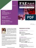 Programa FAE 2015
