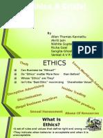 Ethics- Group Dynamics