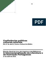 Conferências Políticas Culturais Setoriais