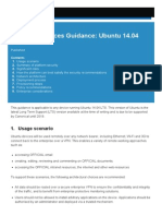 End User Devices Guidance - Ubuntu 14 04 LTS