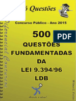 1737_LDB - Lei 9.394_96 - Apostila Amostra