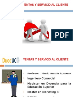 CATEDRA VENTAS Y SERVICIO AL CLIENTE  (UNIDAD N°1)