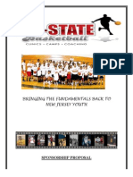 All State Basketball Sponsorship Proposal 2
