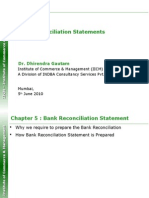 IICM - Bank Reconciliation Statements