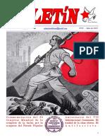 Boletin del Ateneo Paz y Socialismo de Julio de 2015