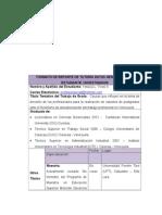 Formato de Reporte de Tutoría Datos Generales Del Estudiante