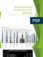 Differential Column Shortening in Tall Buildings