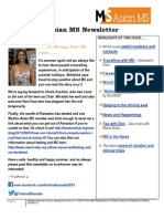 Asian MS Newsletter 2015_Issue 2