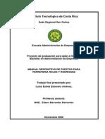 247859108 Manual Descriptivo de Puestos Para Ferreteria Rojas y Rodriguez