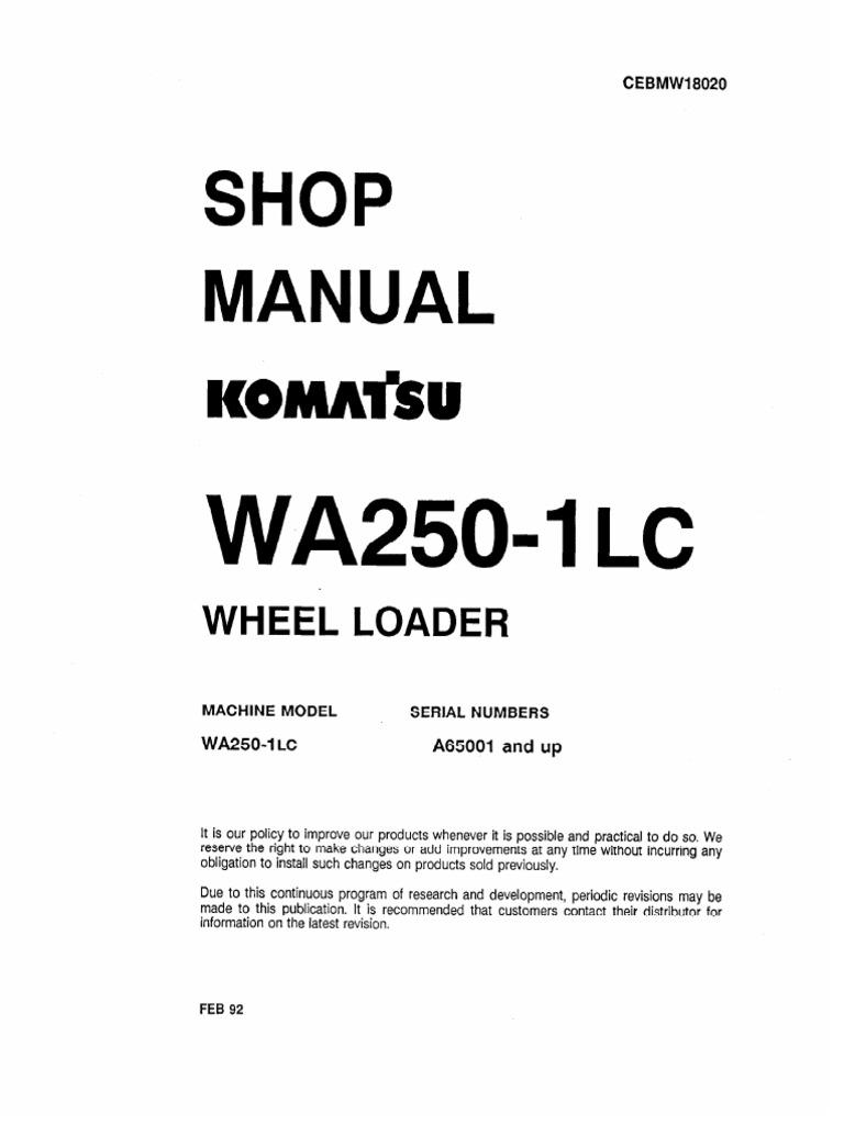 13459173-Komatsu_Service_Wa250 ... on