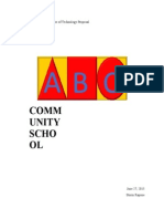 abc community school use of technology proposal