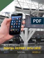 ACI EUROPE Digital Report 2014-2015