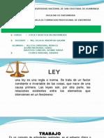 Ley Del Trabajo  de Peru
