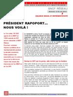 SNCF RÉSEAU DIALOGUE SOCIAL ET REPRÉSENTATIVITÉ