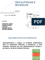 Relau00c7u00d5es Eletricas e Mecanicas
