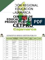 Ponencia del Gobierno Regional de Cajamarca sobre Certificación - 2015