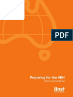 Preparing for the NBN Fibres Connections