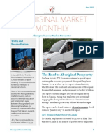 June 2015 Aboriginal Market Monthly