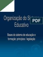 Bases Do Sistema de Educao e de Formao