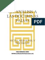 Algunas Falsa Doctrinas