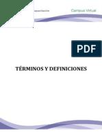 Leccion 9 Fund Hseq II. Terminos y Def