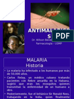 Farmacologia - Antimaláricos