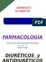 Farmacologia - Diuréticos y Antidiuréticos