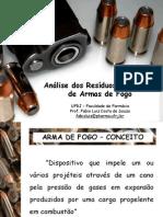 Aula 3 - Analise de Residuos de Disparo de Armas de Fogo