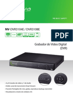 Manual de Usuario Dvr Nv-dvr3104e