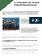 G1 - Mais Jovem Juiz Federal Do Brasil Dá Dicas de Estudo - Notícias Em Piauí