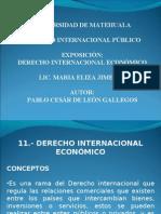 Derecho Internacional Economico