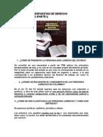 Banco de Preguntas Derecho Administrativo
