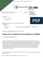 Etapas de Crecimiento en Una Empresa Familiar _ Herramientas PYME