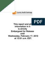 New York county health rankings