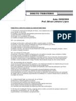 Enade Direito Tributario - Prova/Simulado