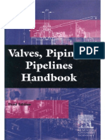 Valves, Piping and Pipelines Handbook, Third Edition