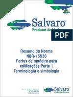 NBR 15930 - Salvaro Produtos de Madeira