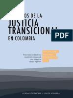 Fundación Social Los retos de la justicia transicional en Colombia percepciones, opiniones y experiencias 2008