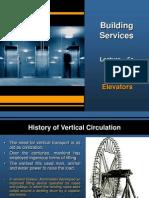 Elevators - Building Services Lecture