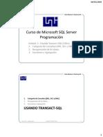 Curso SQL Server Prog U2-02