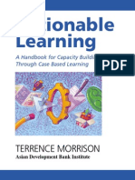 Actionable Learning A Handbook for Capacity Building Through Case Based Learning