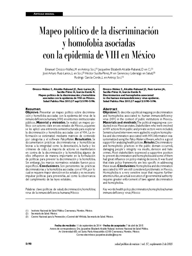 Encuesta peru heterosexual discrimination