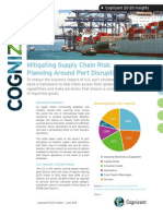 Mitigating Supply Chain Risk