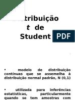 AULA Distribui--o t Student