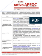 Informativo APEOC 005 Abril 2014