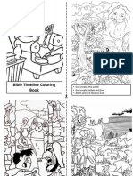 Bible Timeline Coloring Book
