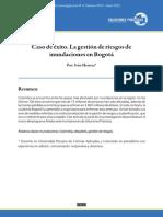 Caso de éxito. La gestión de riesgos de inundaciones en Bogotá
