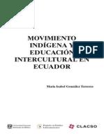Movimiento Indígena y Educación Intercultural en Ecuador