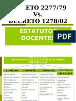 DECRETO 1278 -2277