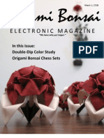 Origami Bonsai Electronic Magazine Vol 2 Issue 2